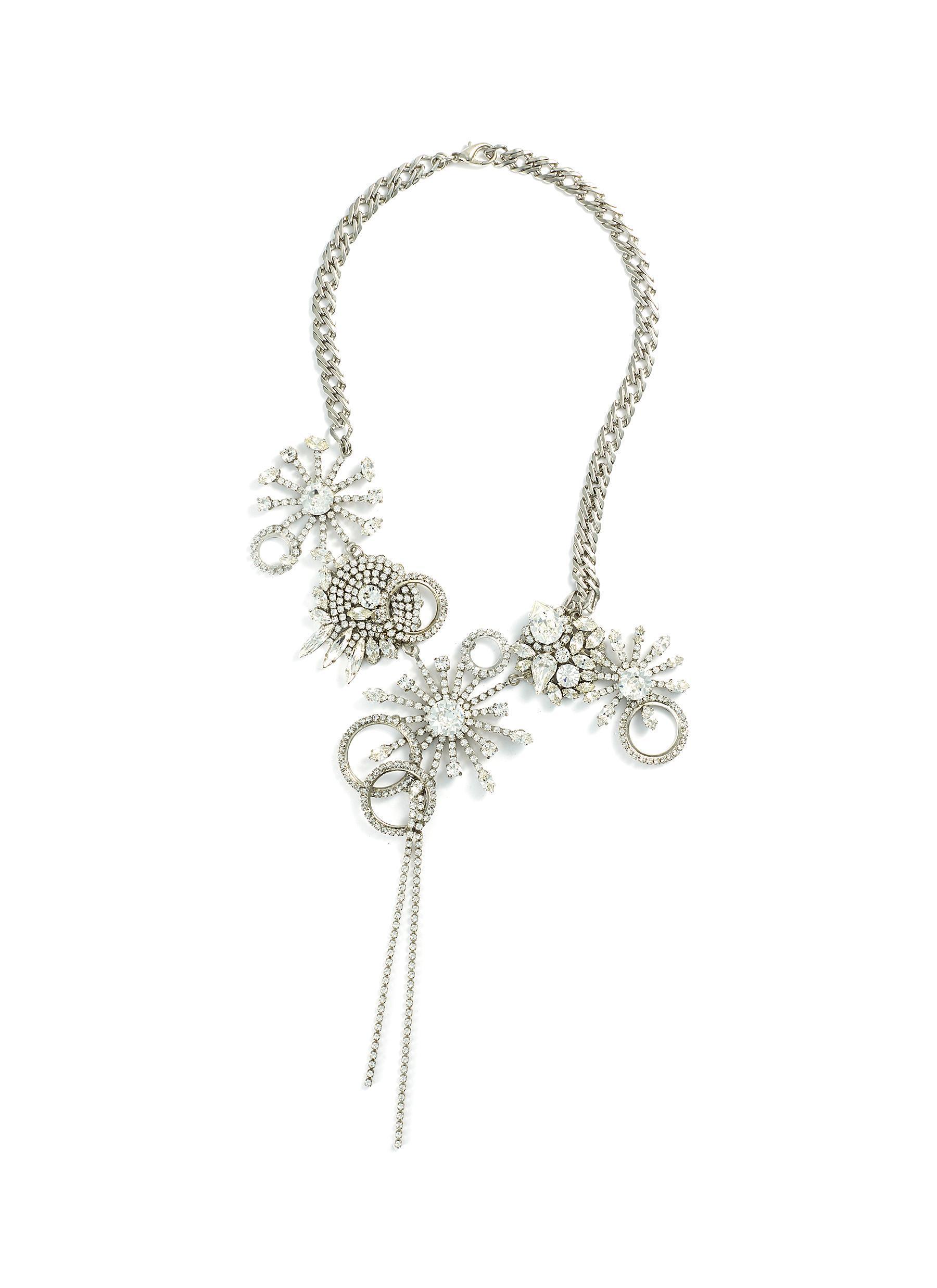 quality design elegant shape good out x Erickson Beamon 'china Club' Swarovski Crystal Cluster ...
