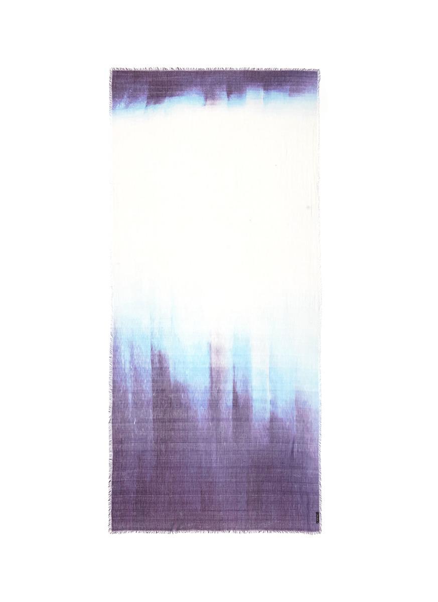 Tie-dye Efecto Bufanda - Sarti Faliero Púrpura Y Rosa yZtklTByZ