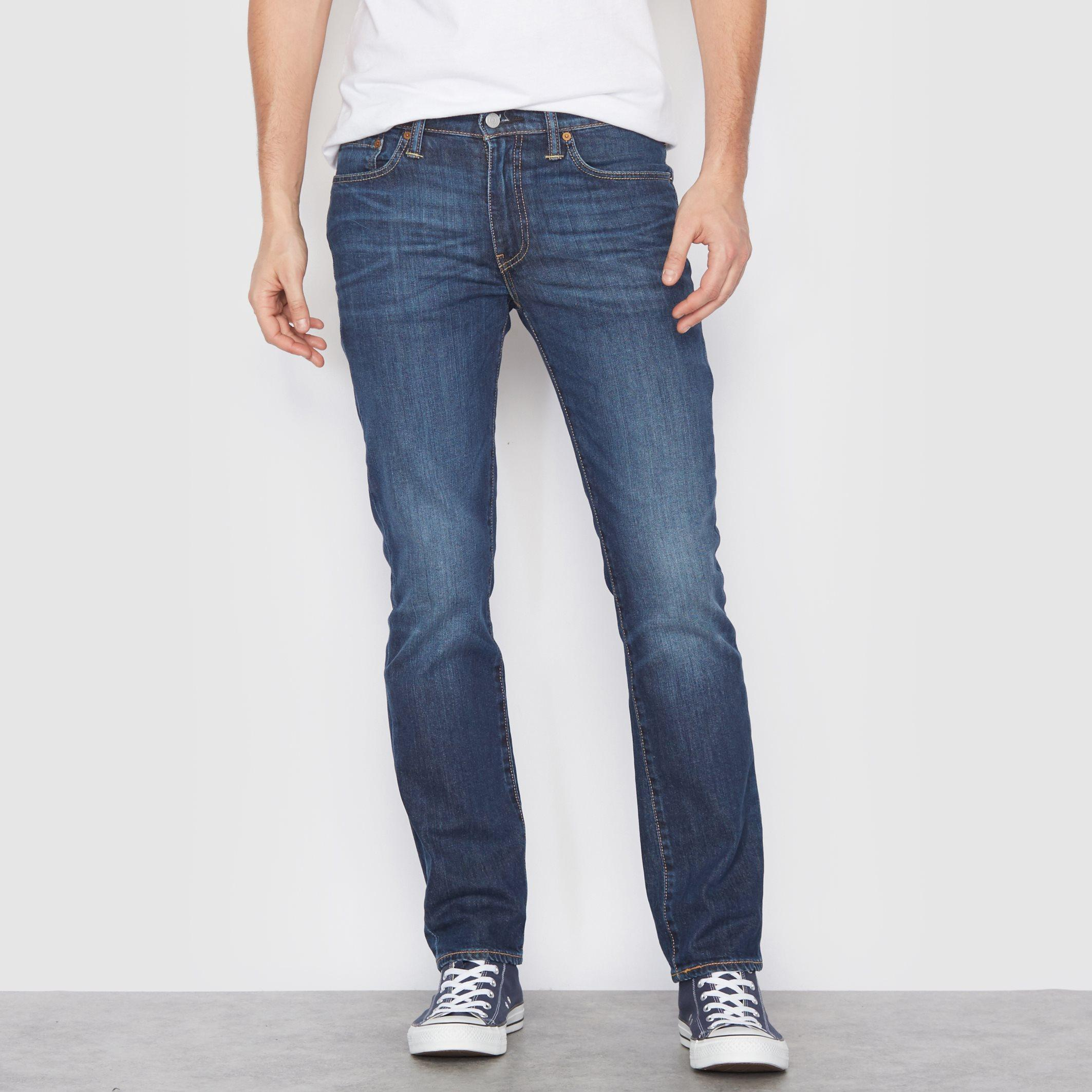 levi 39 s 511 slimfit jeans in blue for men lyst