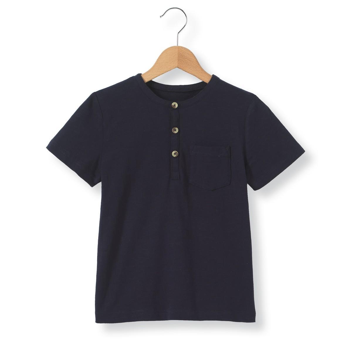 8e39415f72f Lyst - La Redoute T-shirt Col Tunisien 3-12 Ans in Blue for Men
