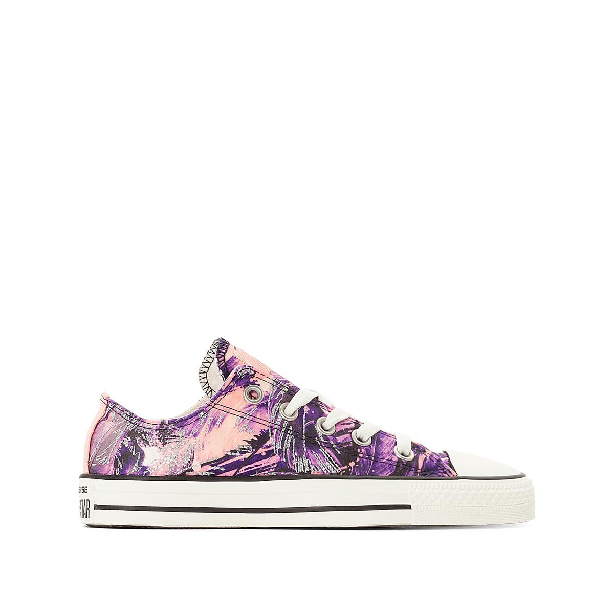 buy cheap hot sale outlet exclusive CONVERSE CTAS OX Feather Print Canvas Trainers low price cheap price 0bXCS