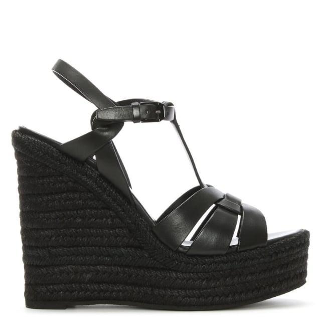 Saint Laurent Espadrille 85 leather sandals RxSH39qQ4l