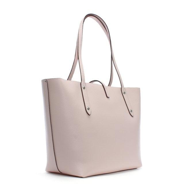 2bdf351d56 COACH Market Polished Ice Pink Leather Tote Bag in Pink - Lyst