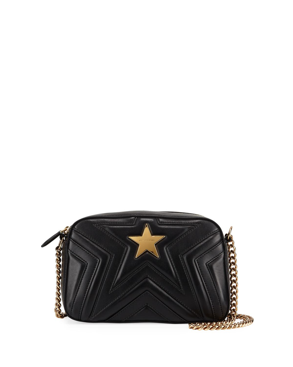 0a3e2d3f5b Lyst - Stella Mccartney Small Alter-napa Shoulder Bag in Black