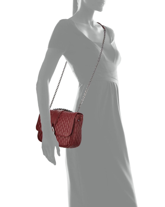 be35ef158391 Longchamp - Red Amazon Small Leather Crossbody Bag - Lyst. View fullscreen