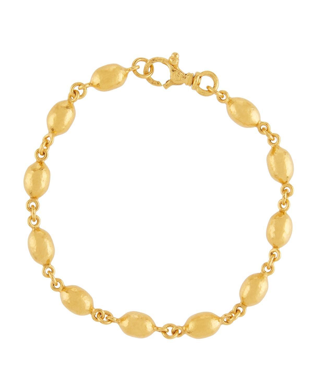 Gurhan Contour 24k Gold All-Around 1-Strand Bracelet sn5QeIjU