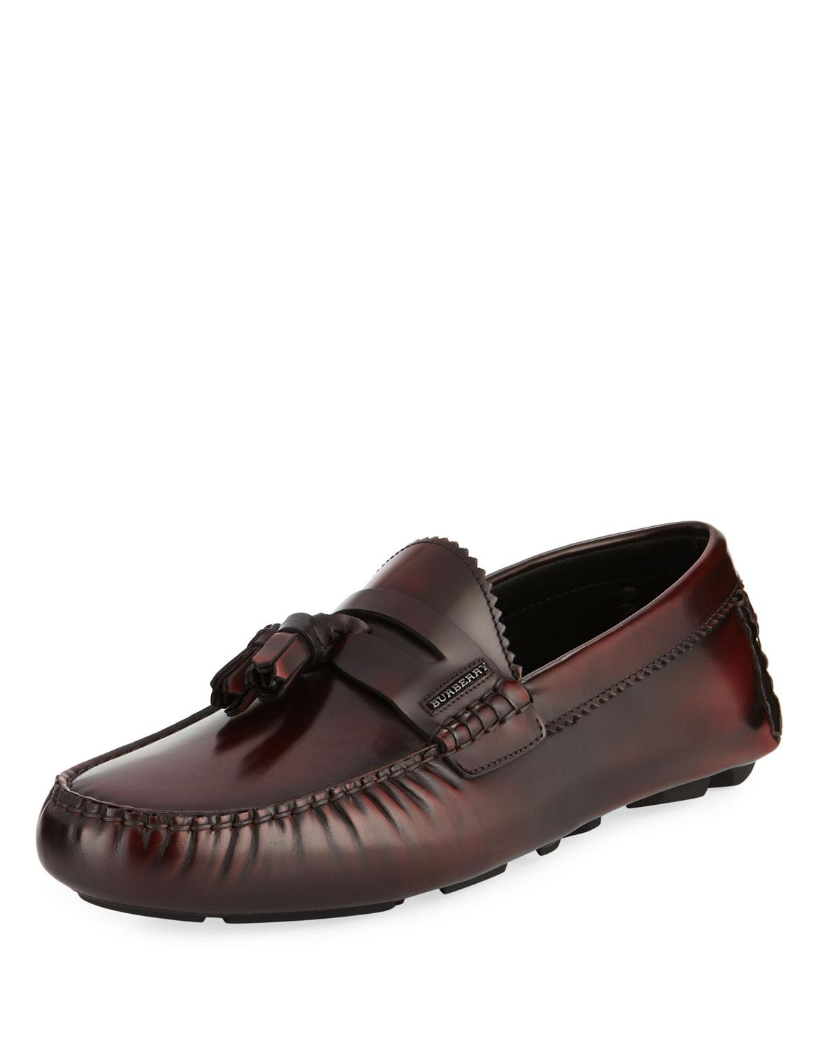e3fa8a3aac5 Burberry - Multicolor Men s Antiqued Penny Loafers for Men - Lyst. View  fullscreen