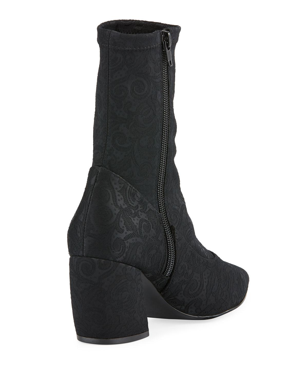 95438ba194d1 Neiman Marcus - Replay Jacquard Pointed Sock Booties Black - Lyst. View  fullscreen