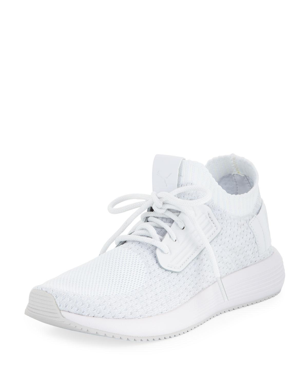 83269f4e26bc8f Lyst - Puma Uprise Mesh-knit Sneakers in White for Men