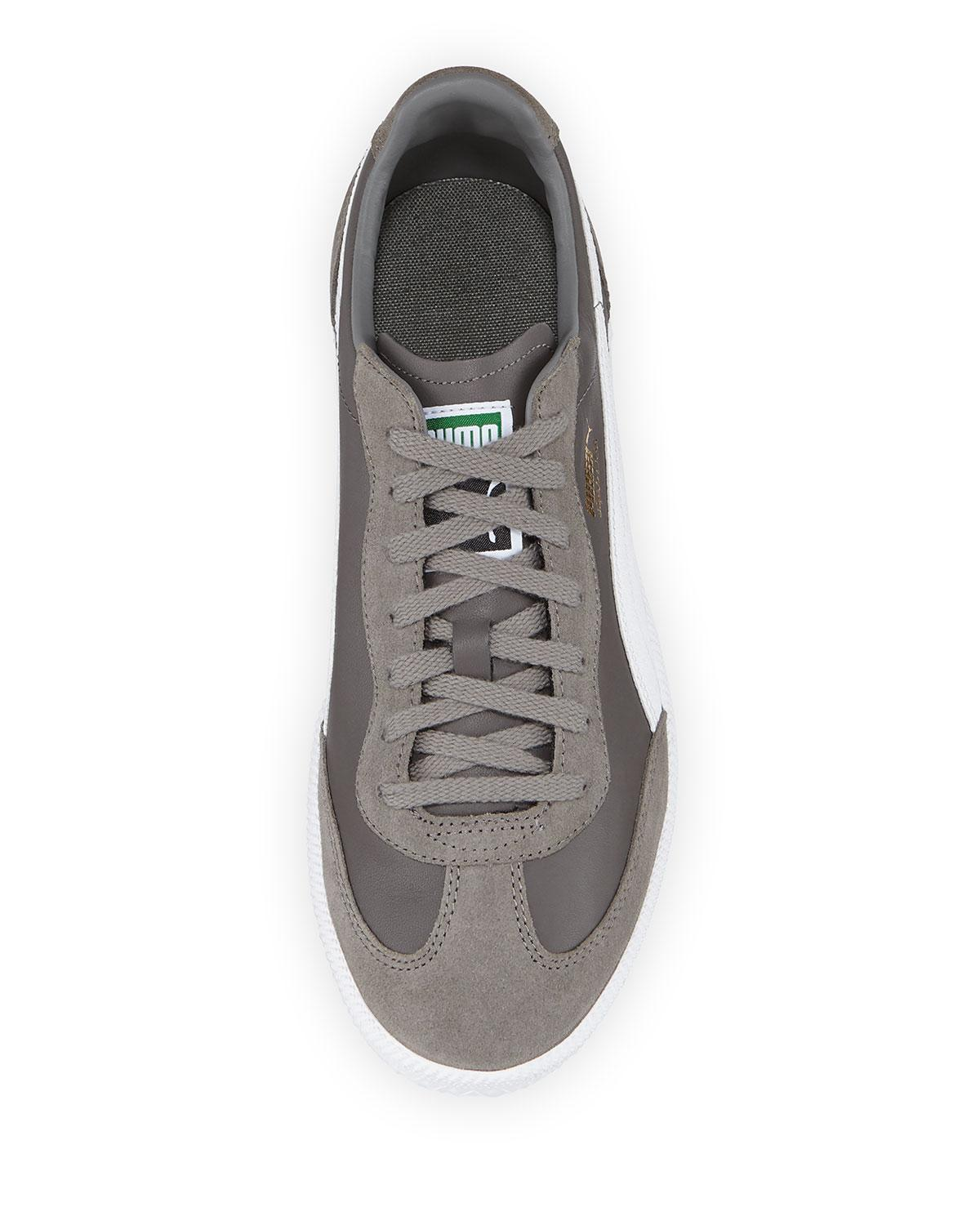 e3d200c74ec Lyst - PUMA Steel Grey Super Liga Og Retro Low-top Sneakers in Gray for Men  - Save 11%