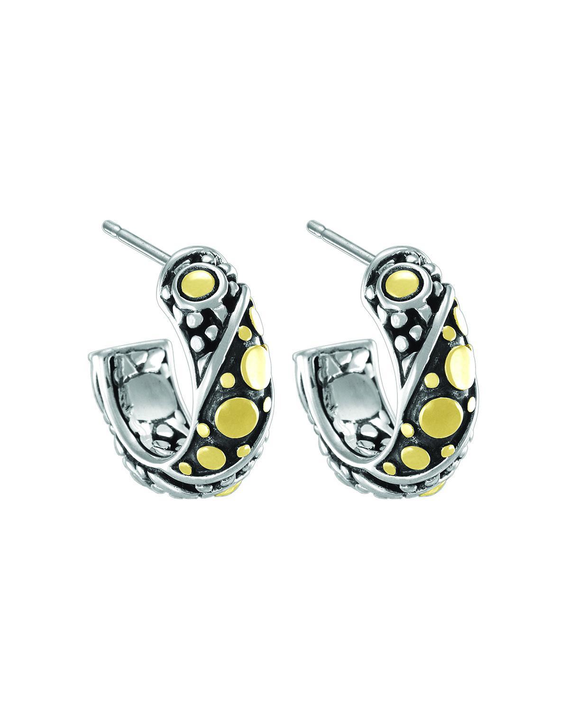 John Hardy Dot Jaisalmer Small Hoop Earrings xllQkPbl