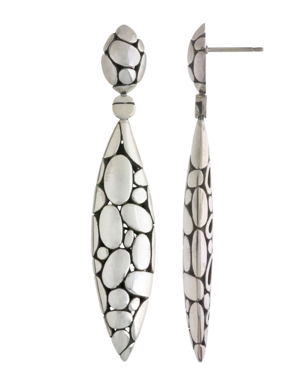 John Hardy Women S Metallic Kali Marquise Drop Earrings