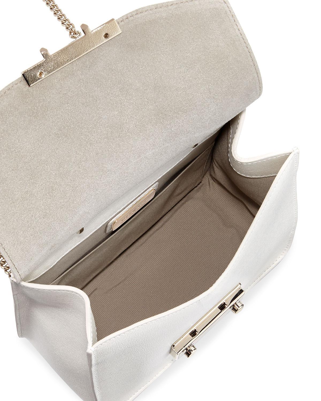 1d51eb0ff5fa Lyst - Furla Julia Mini Saffiano Leather Top-handle Crossbody Bag