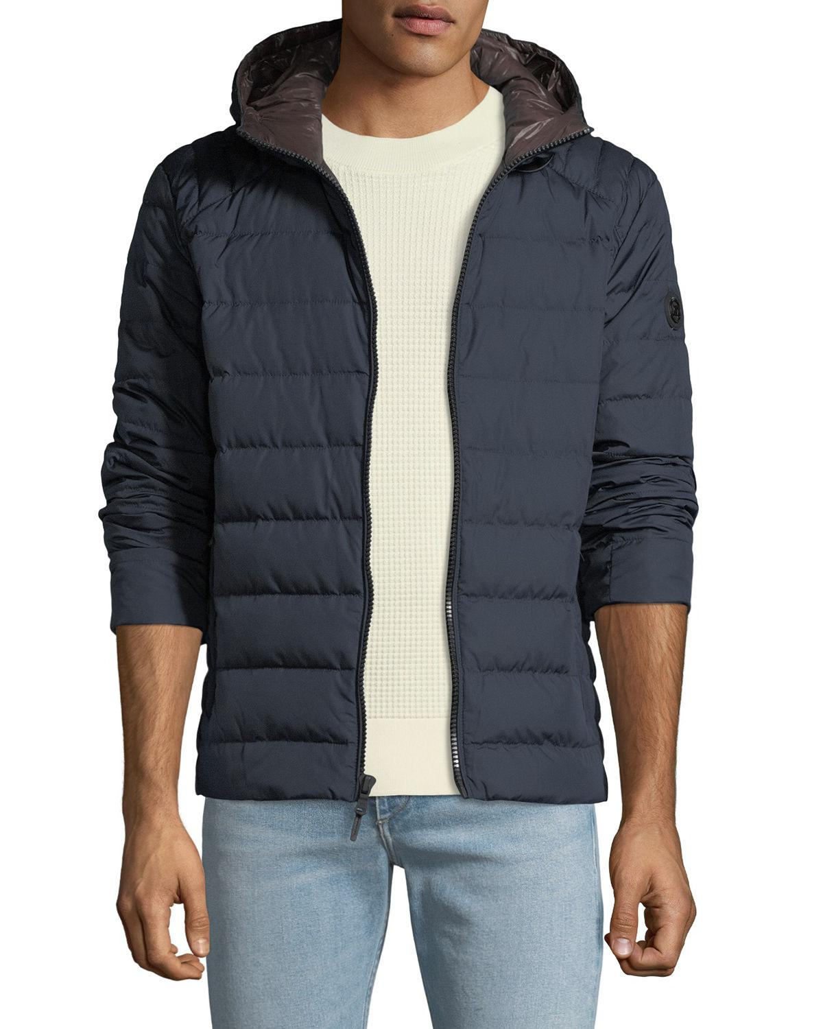 cb3d96bf98dd Lyst - Michael Michael Kors Men s Quilted Down-fill Hooded Jacket ...