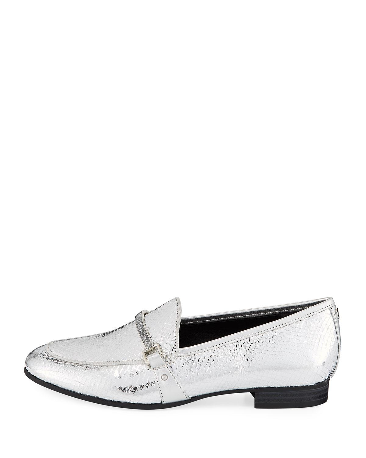 fe6c5a5ae Lyst - Circus by Sam Edelman Hendricks Metallic Bit Loafers - Save 43%