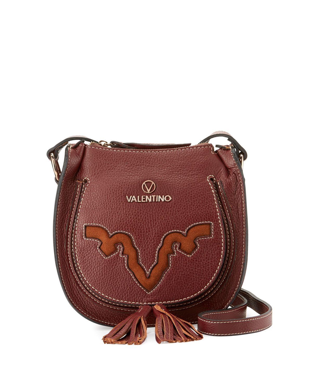 valentino by mario valentino sylvie leather crossbody bag. Black Bedroom Furniture Sets. Home Design Ideas