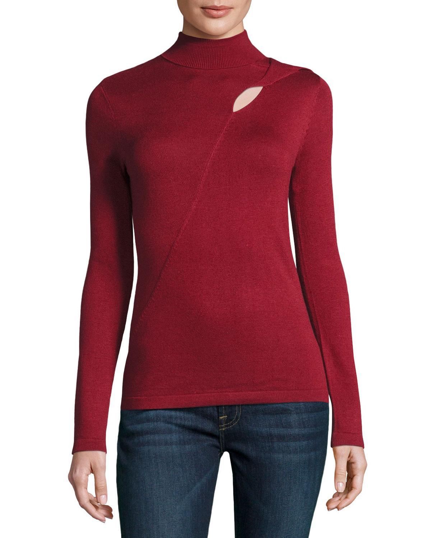 Mock Turtleneck Sweater