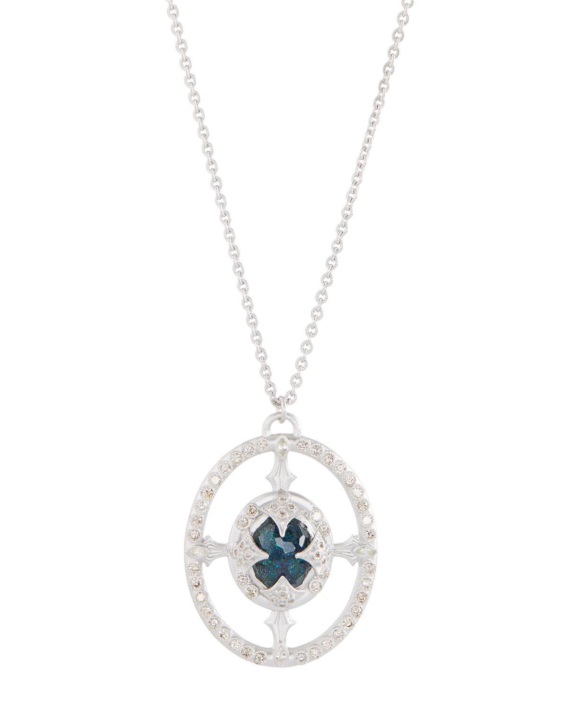 Armenta New World Doublet Pear Pendant Necklace SufeWqj