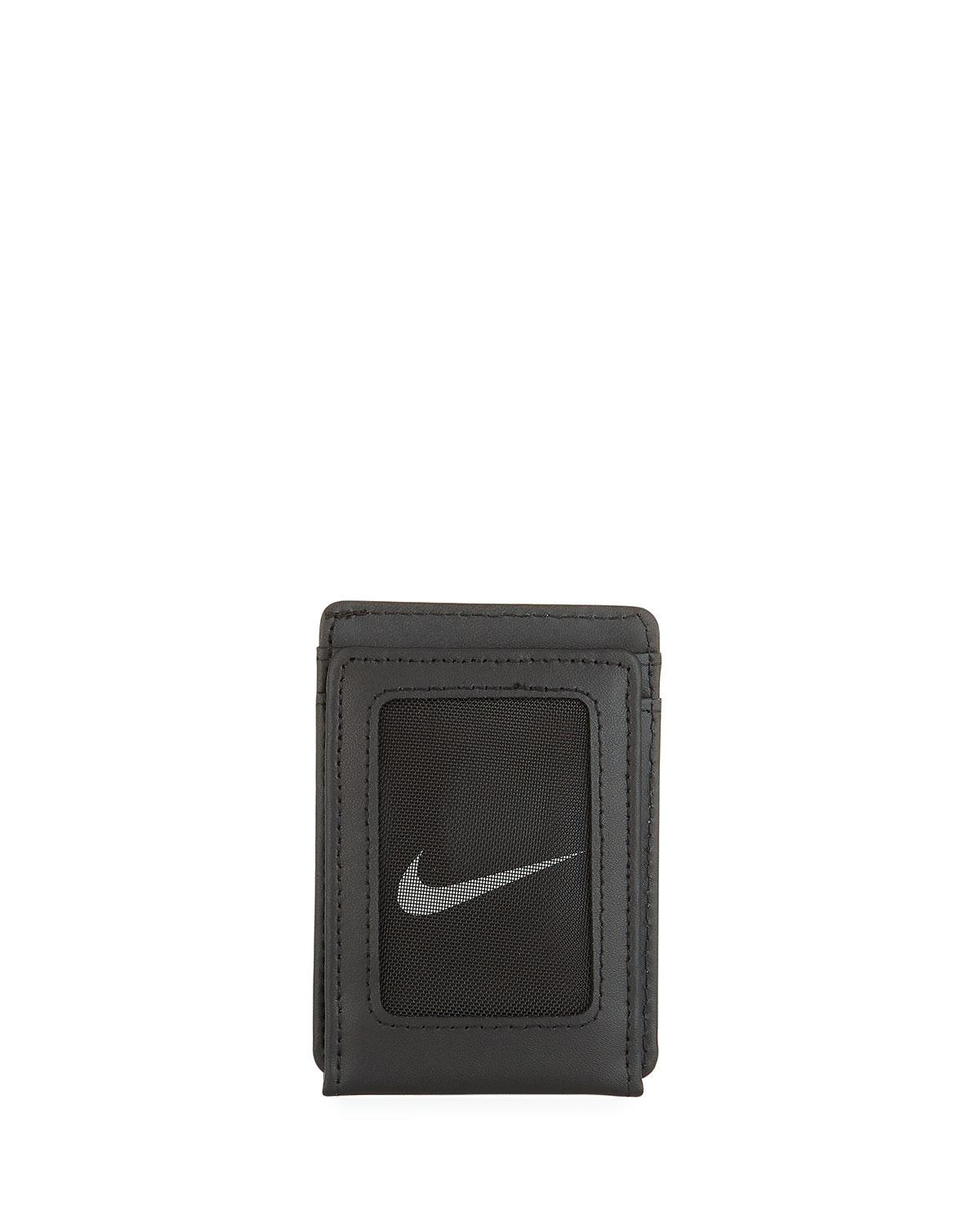 6c1627430c Nike Men's Block Leather Wallet in Black for Men - Lyst