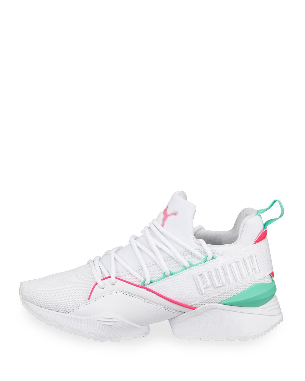 Sneakers Muse Lyst Neoprene White Maia Puma In 6P6Iwqax