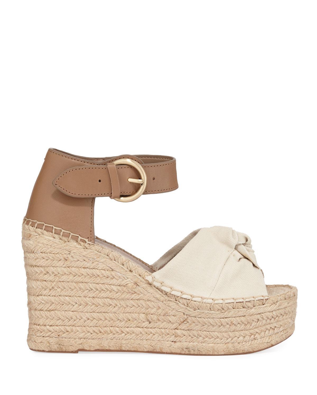 d4a8bcb15cd Marc Fisher Anty Wedge Platform Sandals - Lyst