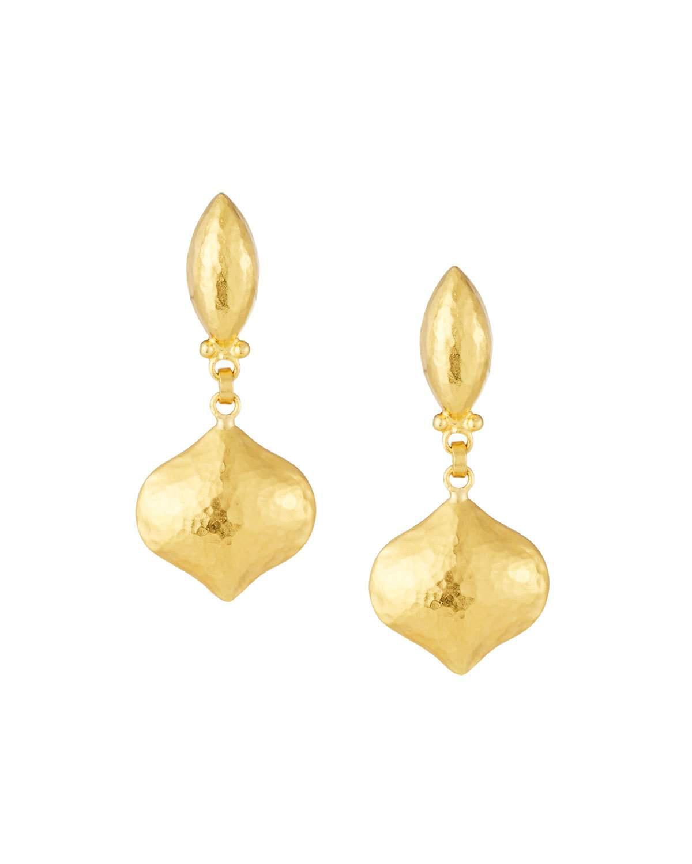 Gurhan Clove 24k Pave Diamond Small Drop Earrings MwO3OVMMM