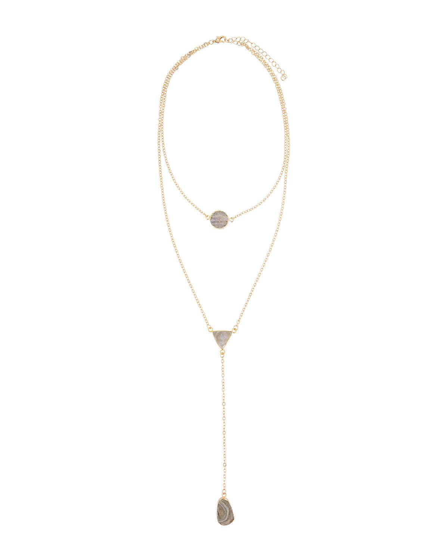 Panacea Long Beaded Y-Drop Wrap Necklace y5Ik6xyJ