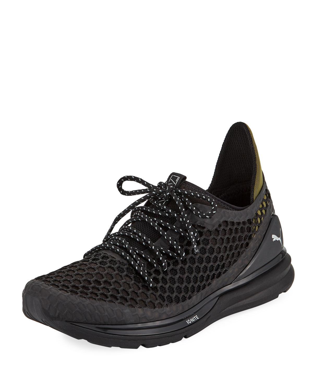 5bad18e257b6 Puma Men s Ignite Limitless Netfit Staple Sneakers in Black for Men ...
