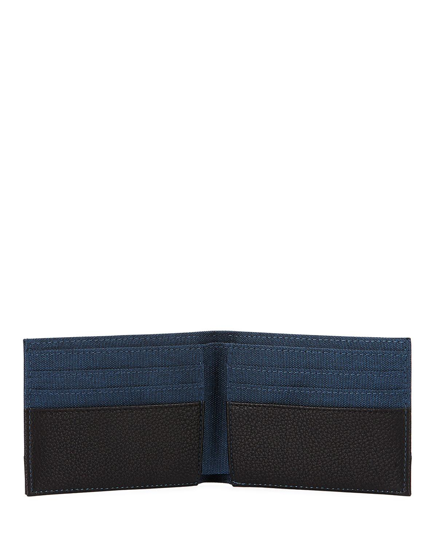 89cd50fa44cc Lyst - Neiman Marcus Men s Flat Fold Wallet in Black for Men