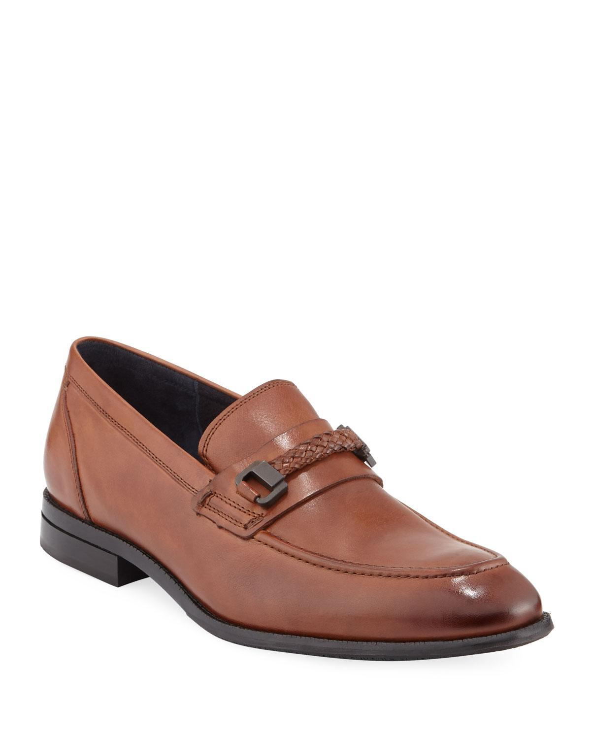 5fac25582cb Lyst - Cole Haan Men s Williams Grand Bit Loafers in Brown for Men