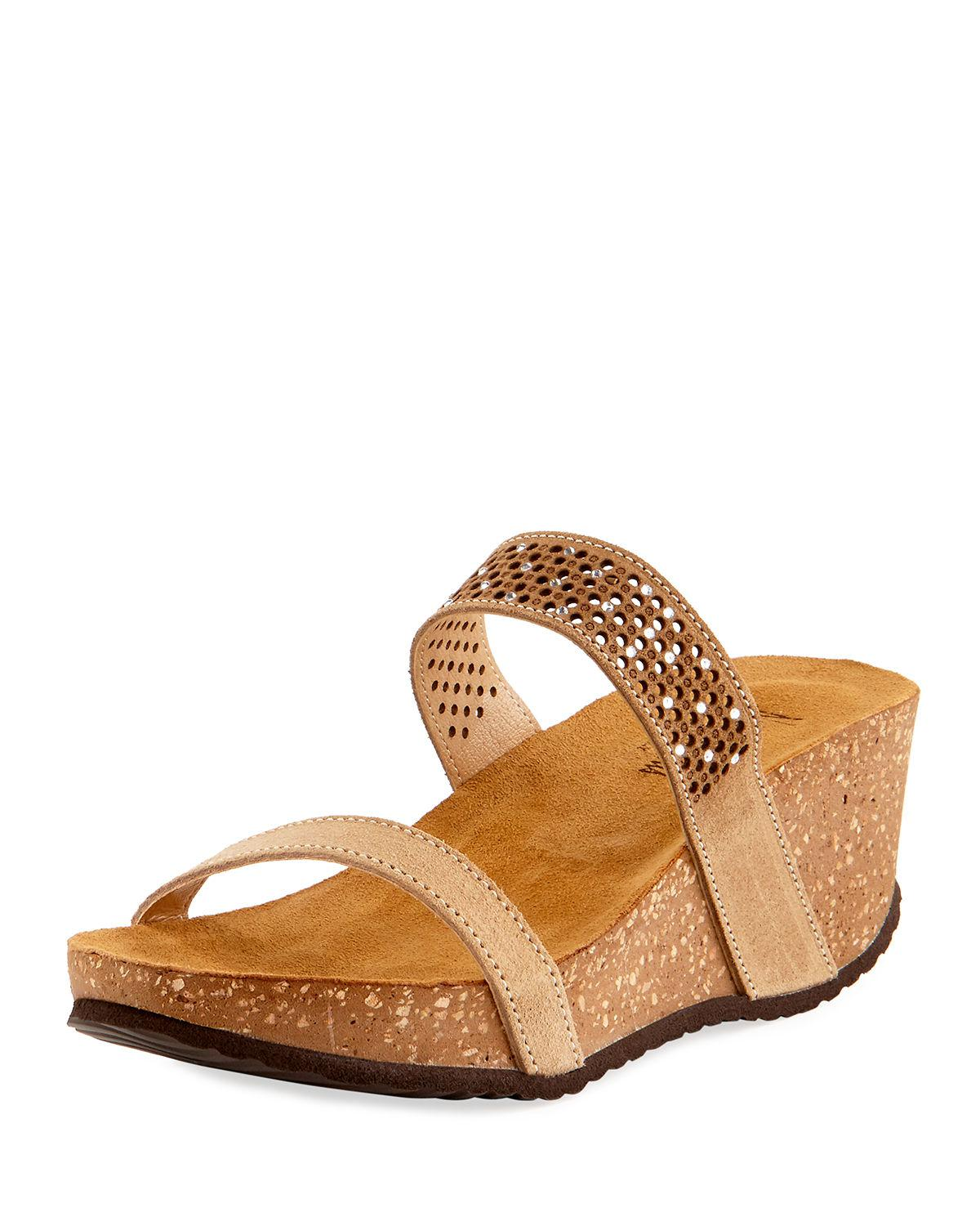 Emmie Two Band Woven Wedges auXCKfo5