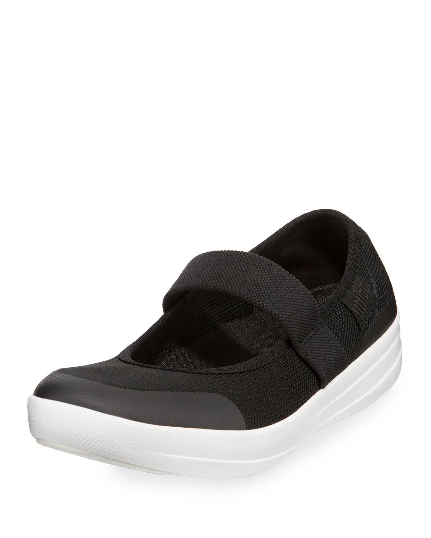 6465b5963 Lyst - Fitflop Uberknit Mary Jane Sneakers in Black