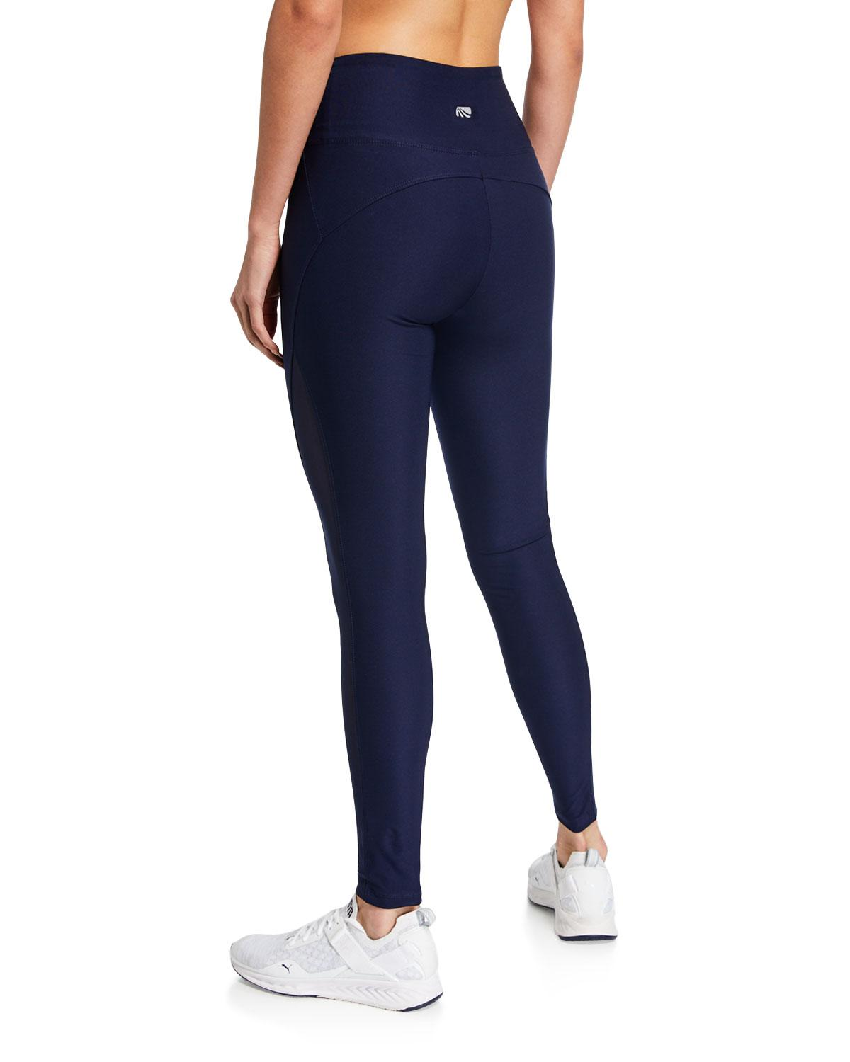 3ded821c5163e Lyst - Marika Tek Vixen Mesh High-waist Leggings in Blue