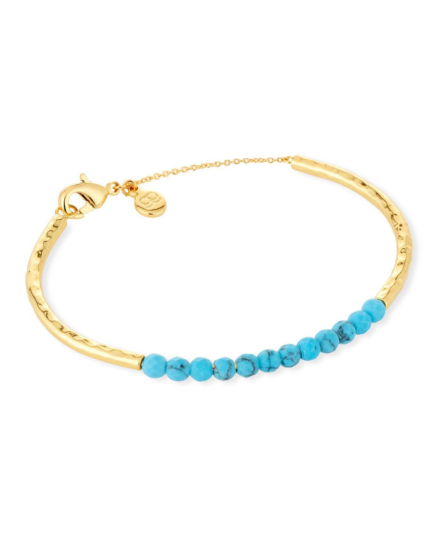 Power Gemstone Statement Bracelet in Turquoise Gorjana jKBCc2