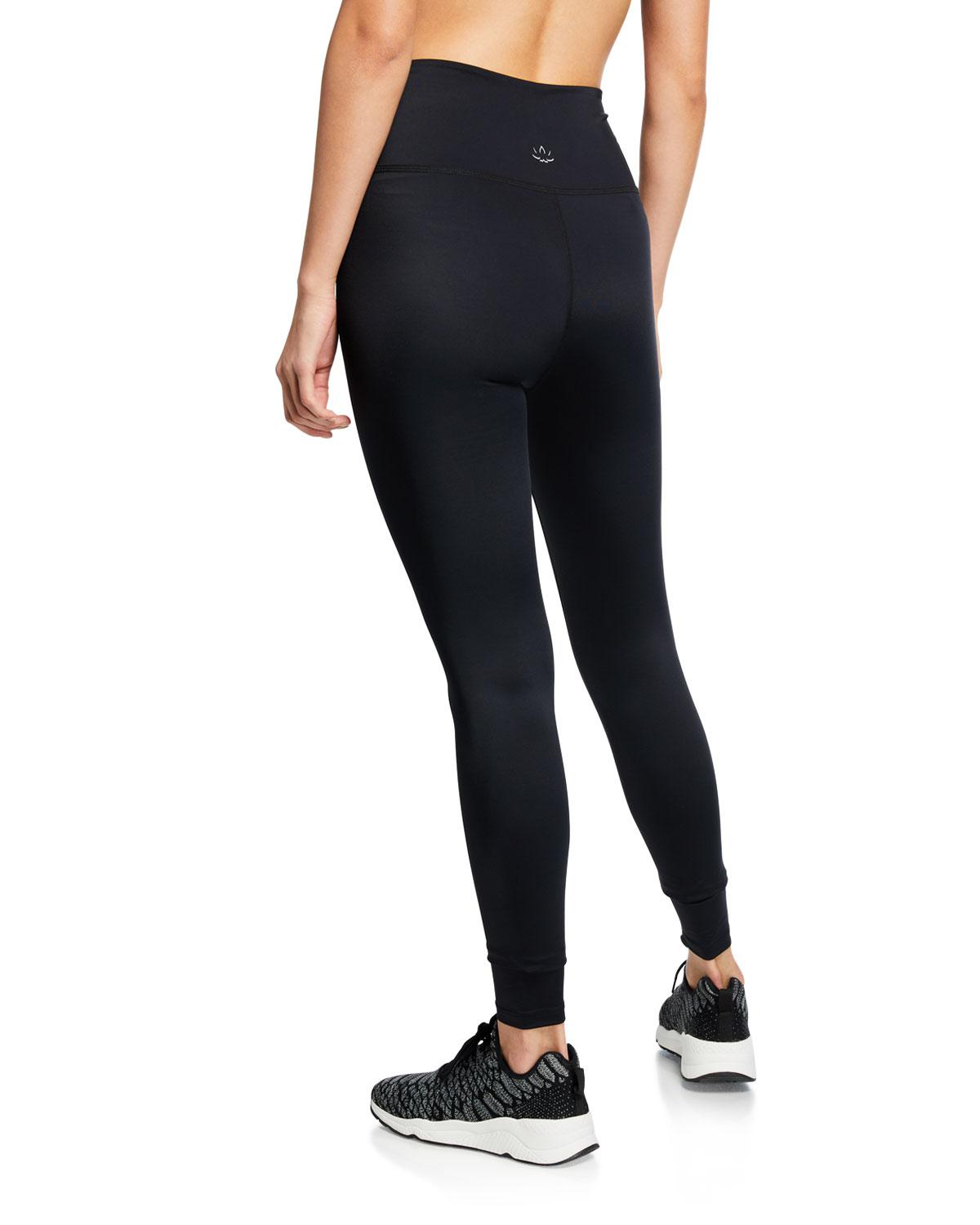 a90dc9a7a7a58 Lyst - Beyond Yoga Learn The Ropes High-waist Leggings in Black