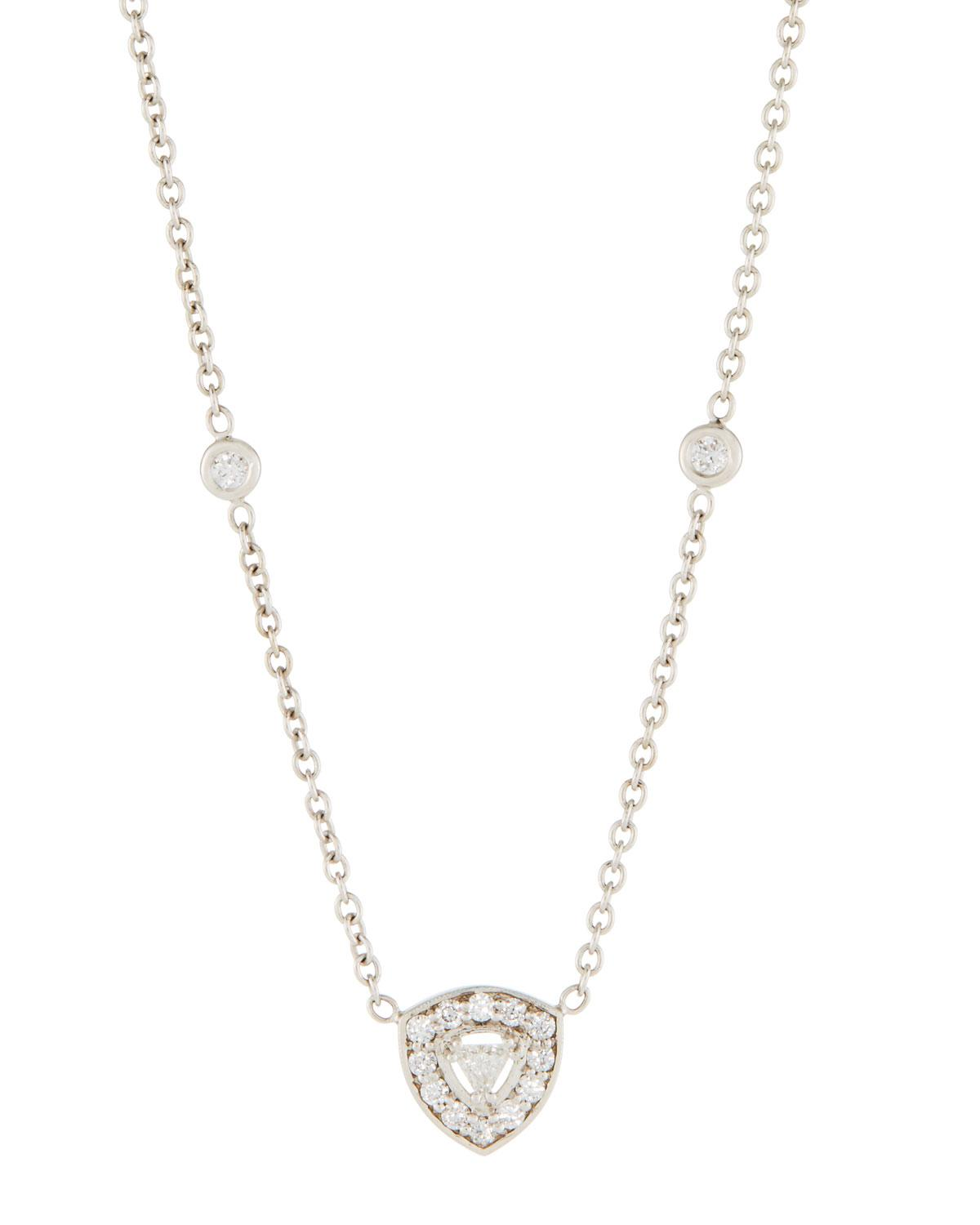 Penny Preville Pavé Diamond Flower Pendant Necklace ZNoiWJsqDz
