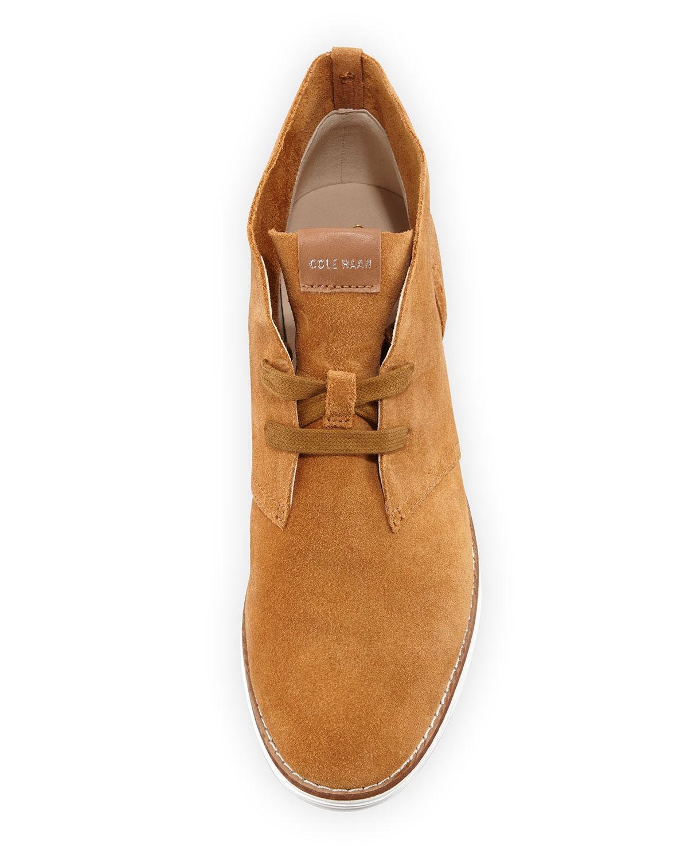 c87e0b3b521 Lyst - Cole Haan Original Grand.os Chukka Boot in Brown for Men