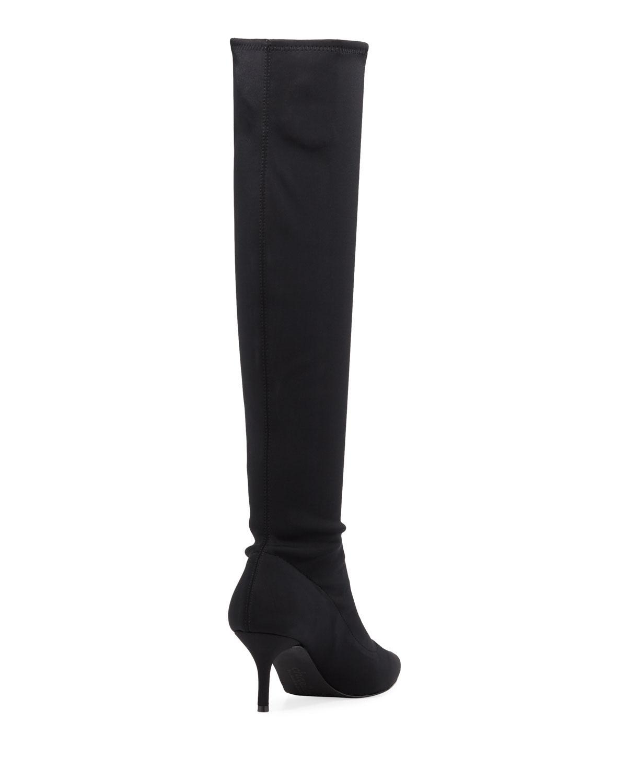 df44b710404 Lyst - Charles David Aerin Dressy Neoprene Boots in Black