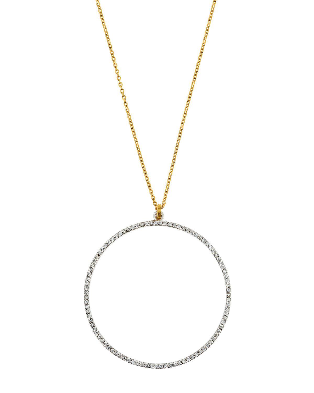 Gurhan Delicate Diamond Pavé Double-Strand Pendant Necklace AVoKzFjHr