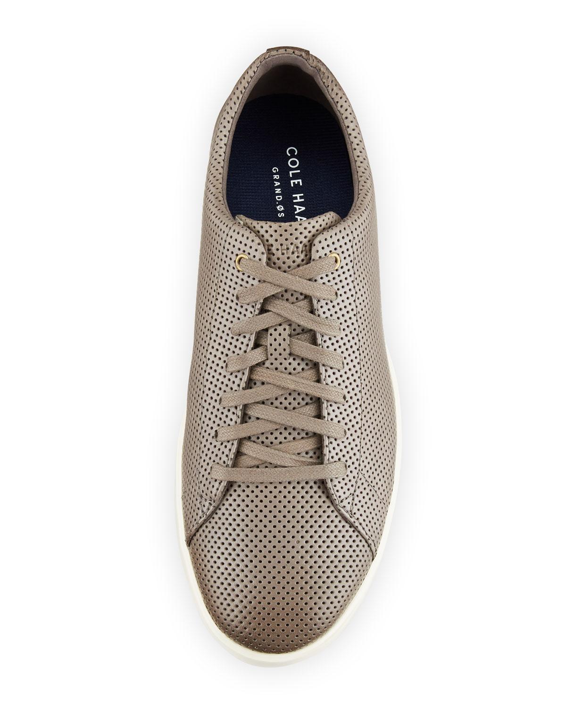 2fa35d2a475 Lyst - Cole Haan Men s Grand Crosscourt Sneakers Dark Gray in Brown for Men