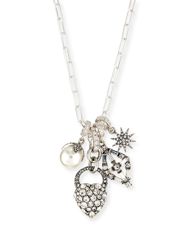 Lulu Frost Hematite Charm Necklace VfyxQX