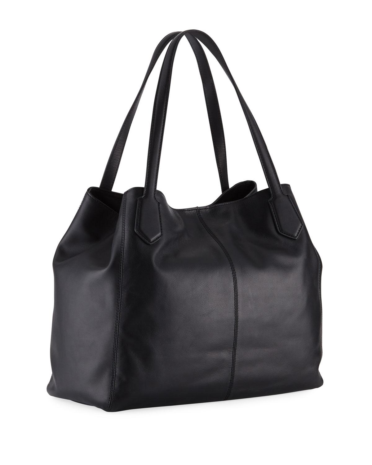 fc4a3a78e80a Cole Haan - Black Allanna Work Leather Tote Bag - Lyst. View fullscreen