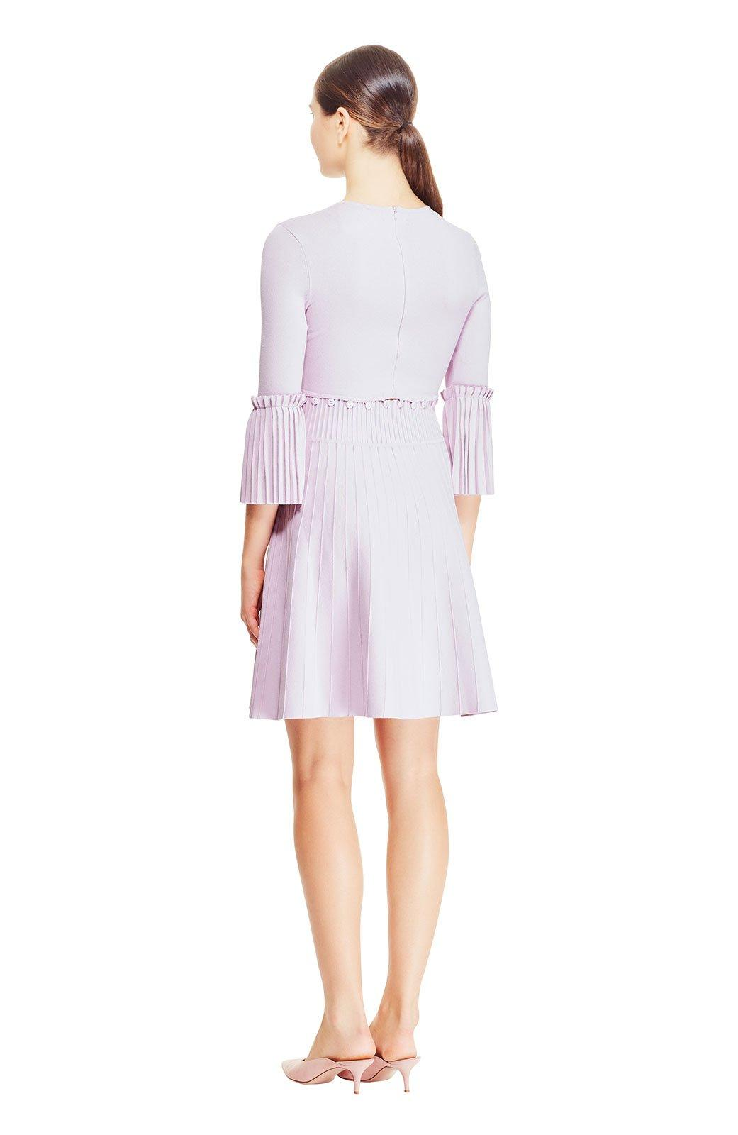 ad59f5f2c3 Lela Rose - Purple Pleated Skirt Knit Dress - Lyst. View fullscreen