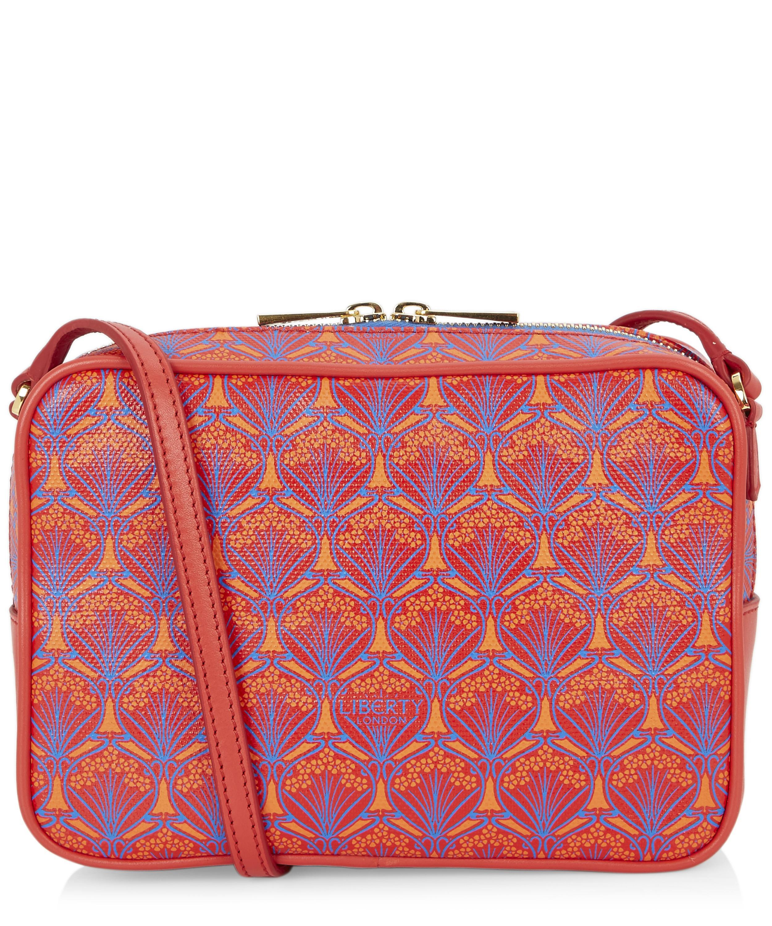 691e864039 Liberty Maddox Cross-body Bag In Iphis Coated Canvas in Red - Lyst