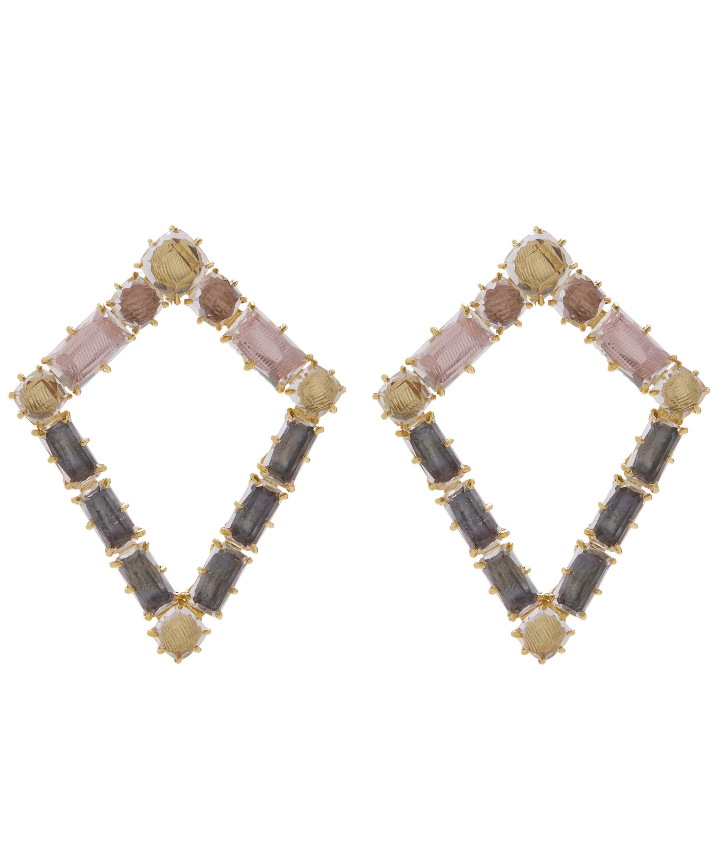 Larkspur & Hawk Caterina Kite Earrings, Fawn