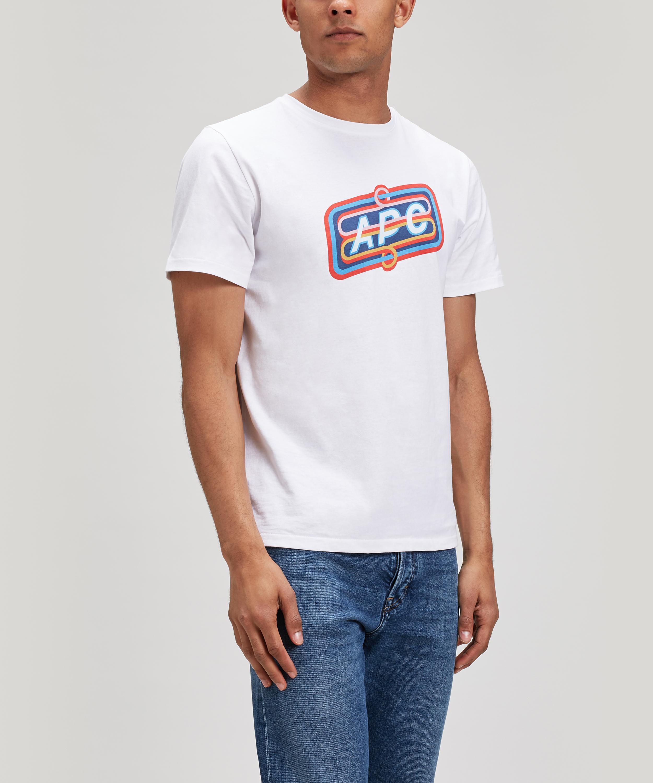 Bastien logo-print cotton T-shirt A.P.C. Sale Online Store Cheap Geniue Stockist ZQ5hVLNBRL