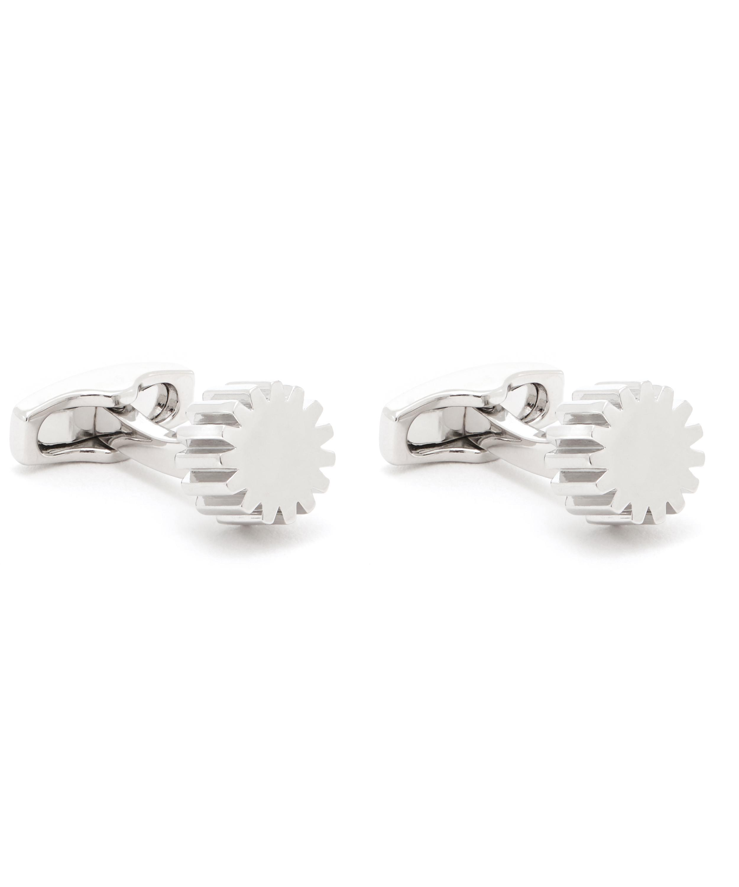 0f025a1a0 Simon Carter Cog Cufflinks in Metallic for Men - Lyst