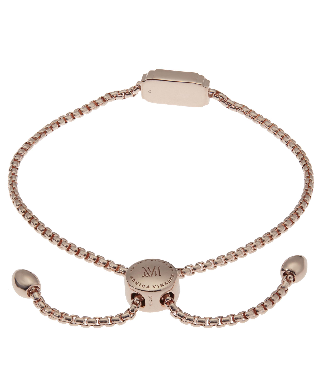 Rose Gold Baja Facet Bracelet Labradorite Monica Vinader G9K9FB