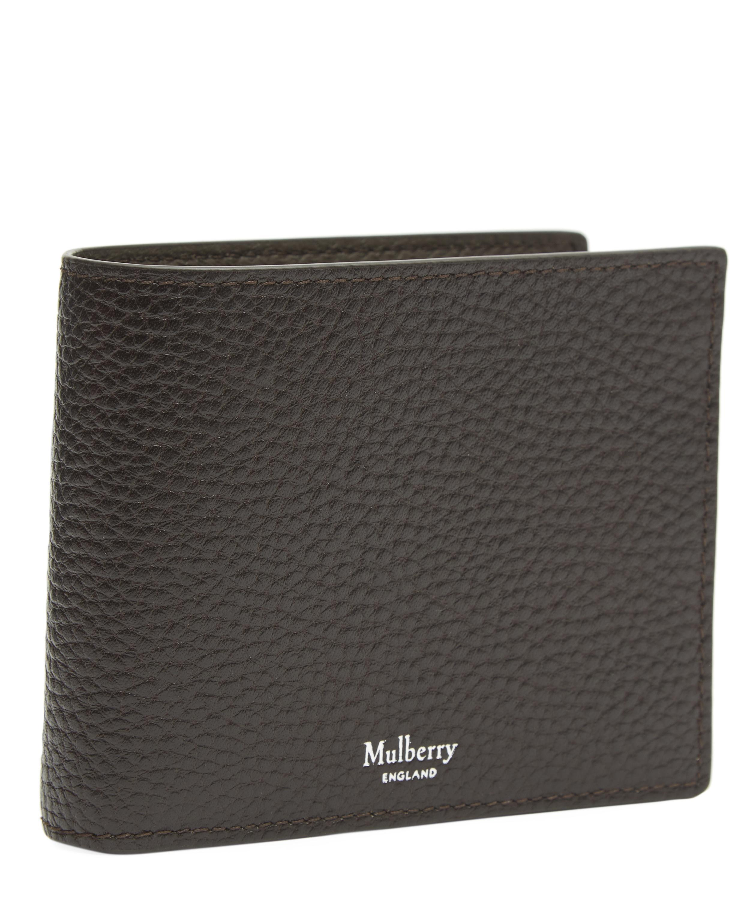 955a8a15d156 Mulberry Grain Leather Wallet in Brown for Men - Lyst