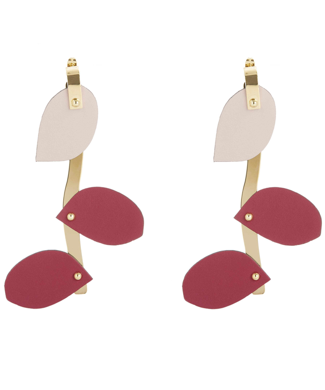 Marni Petal Earrings in Dry Rose Resin f19hQYBKZg